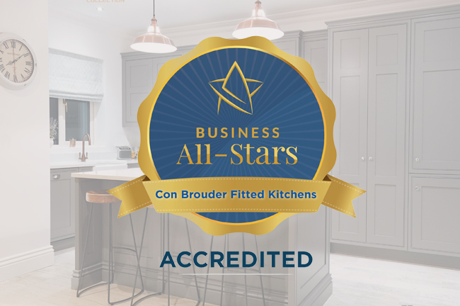 Delighted to receive Business All-Star Accreditation